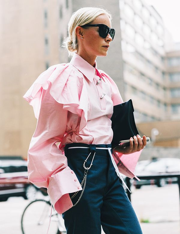 Ruffled Statement Shirts