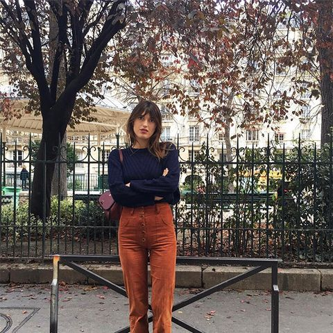 Fall Outfit Formulas From Our Favorite French It Girls
