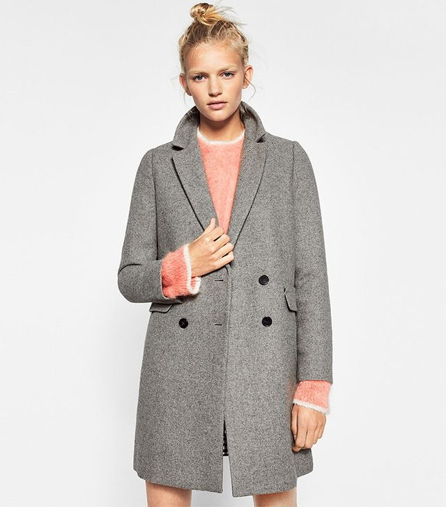 Zara Double Button Masculine Coat