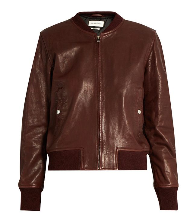 Isabel Marant Étoile Brantley bomber jacket