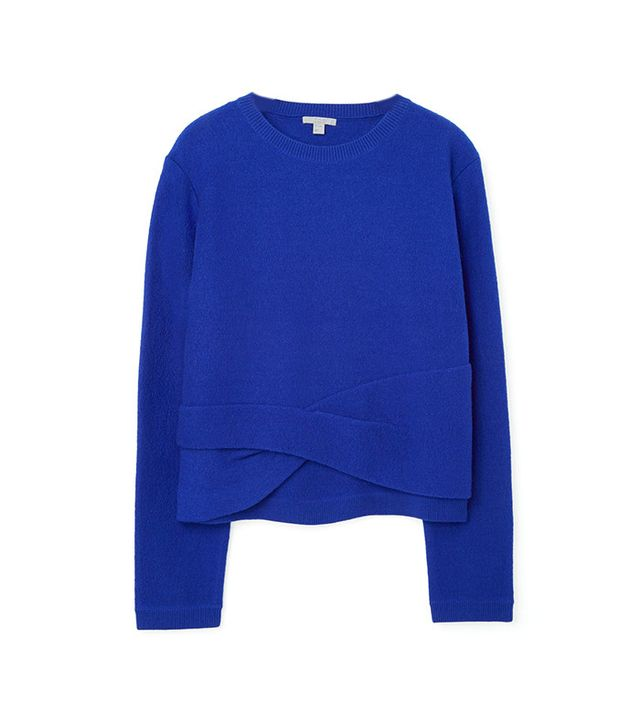 COS Twisted Detail Jumper