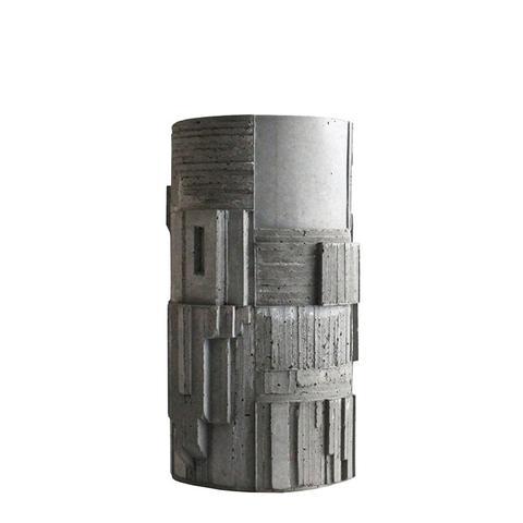 Brutalist Concrete Vase No. 2