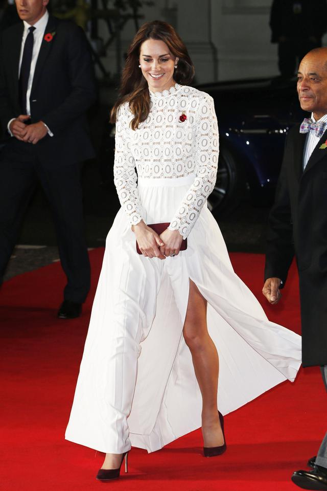 Kate Middleton Red Carpet Self Portrait Dress