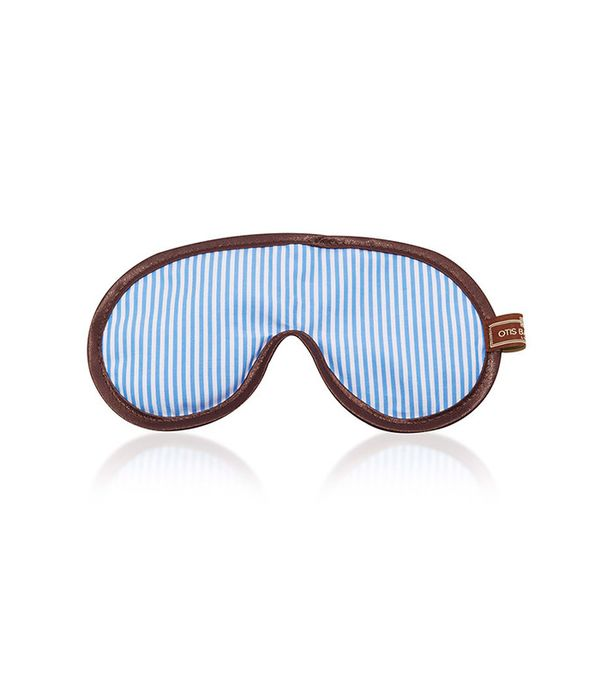 Otis Batterbee Blue Stripe Eye Mask