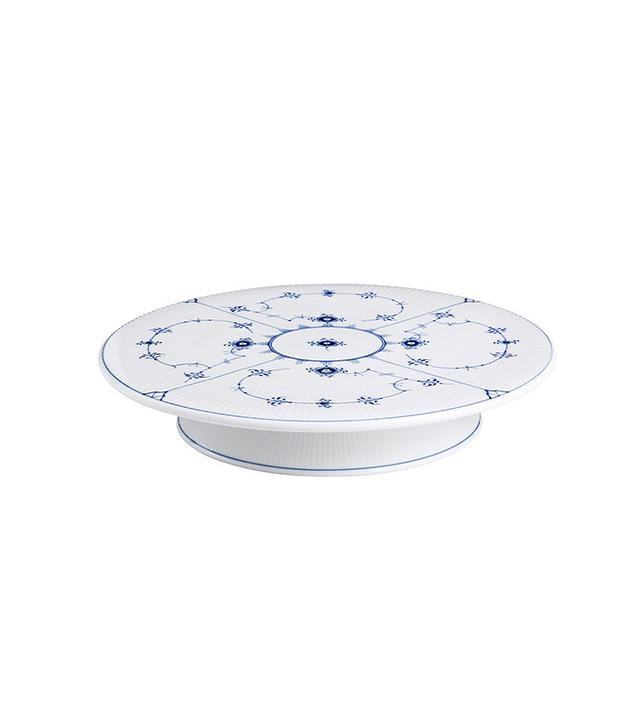 porcelain cake platter