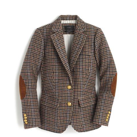 Rhodes Blazer in Houndstooth Wool