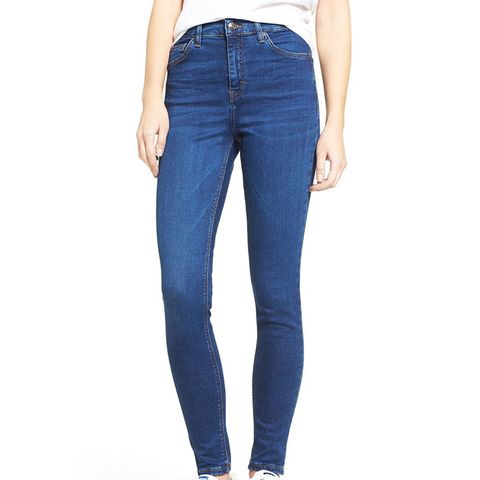 Jamie High Rise Ankle Skinny Jeans