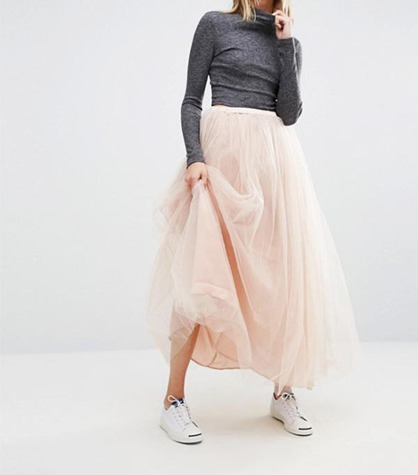 Glamorous Tulle Maxi Skirt