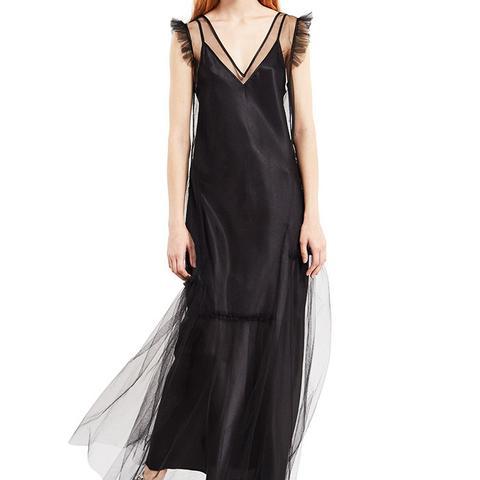 Tulle Midi Dress