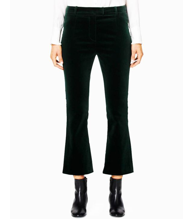 Frame Velvet Pants in Spruce