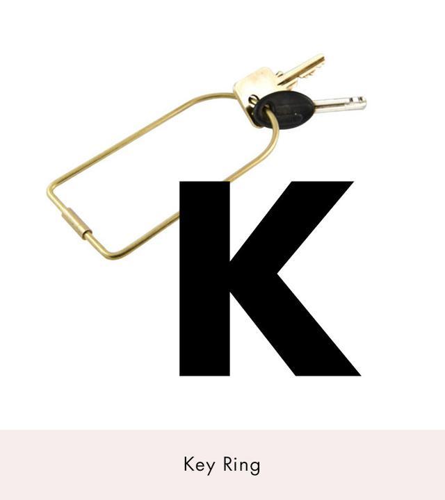 Areaware Key Ring