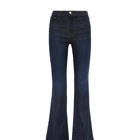 Maria High-Rise Flared Jeans