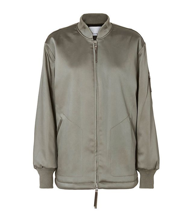 T By Alexander Wang Water Resistant Bomber Jacket