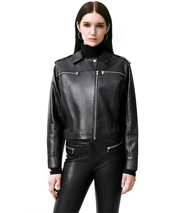 J Brand Maise Leather Jacket