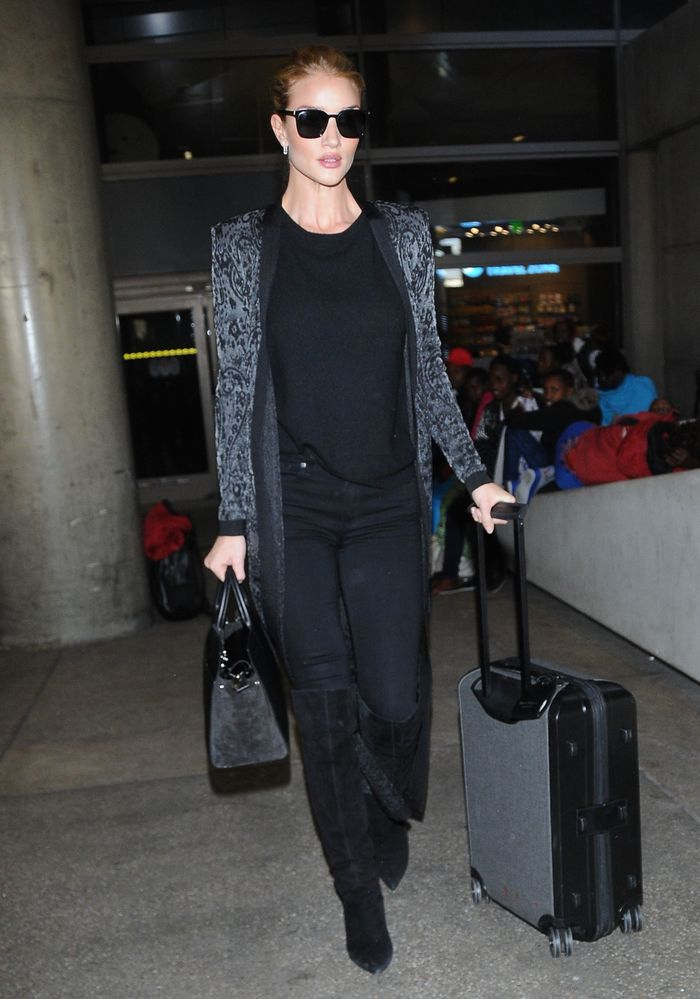 Rosie Huntington Whiteley Airport