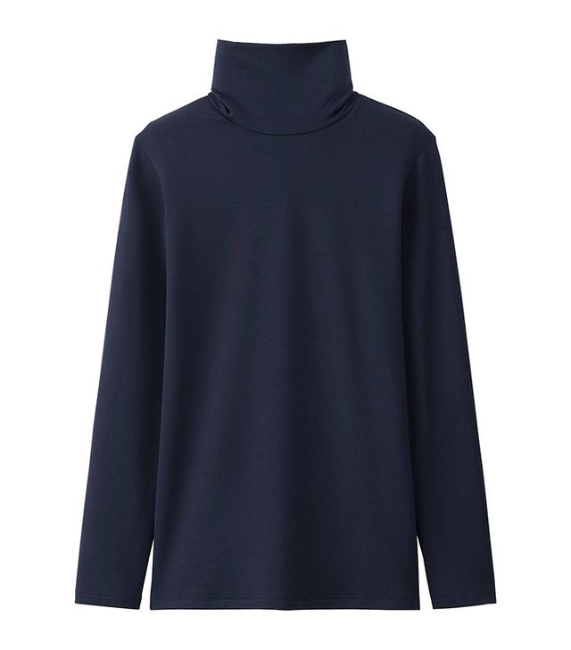 Uniqlo Heat Tech Extra Warm Turtleneck T-Shirt