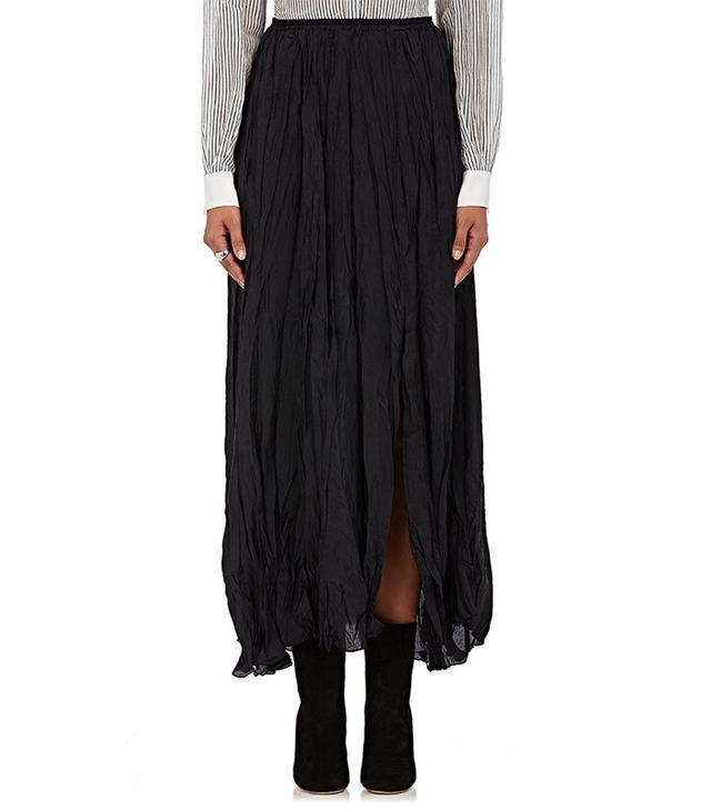 Giada Forte Silk Maxi Skirt
