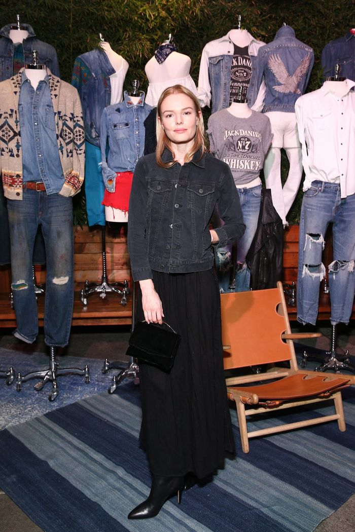 Kate Bosworth Lucky Brand Jeans Spring Preview 2016
