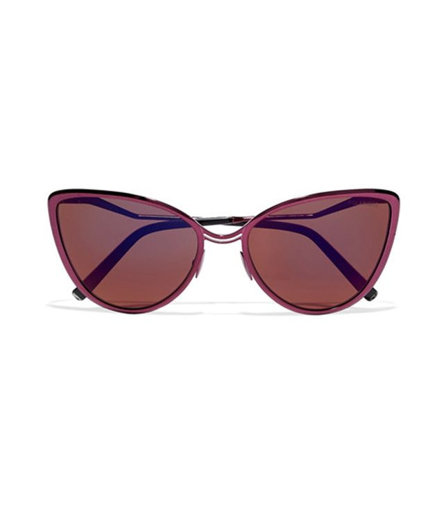 Cutler and Gross Aphrodite Cat-Eye Metal and Acetate Sunglasses