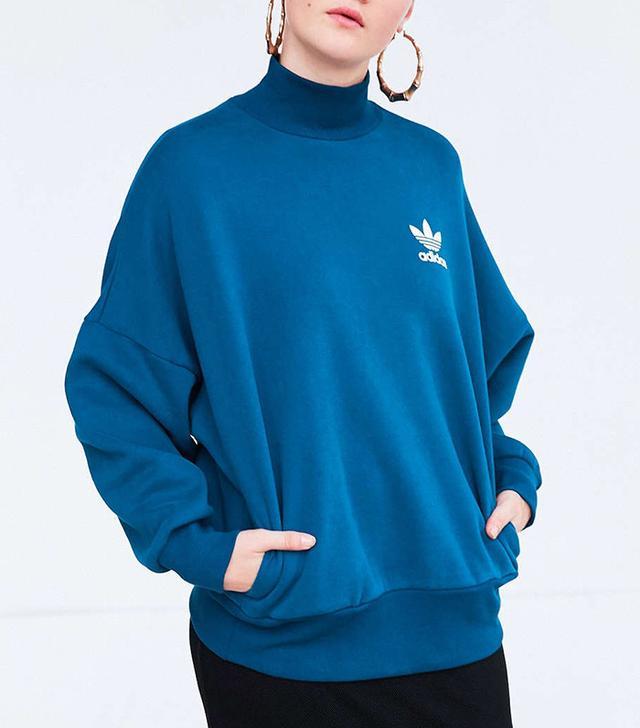 Adidas Tech Steel Mock Neck Sweatshirt