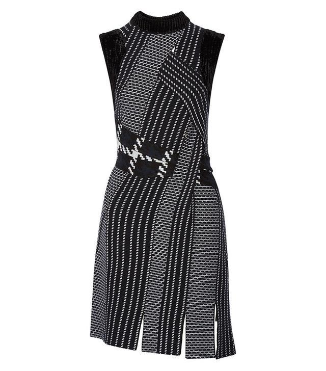 3.1 Phillip Lim Velvet-Trimmed Dress