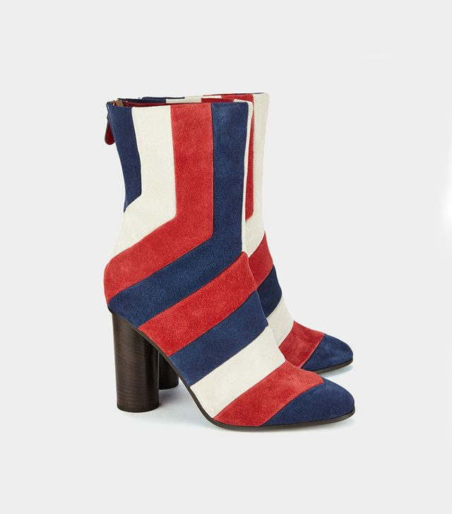 Anya Hindmarch Arcade Stripe Boots