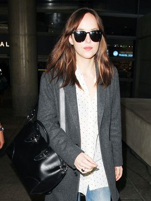 Dakota Johnson's Retro Shoes Channel Jackie O