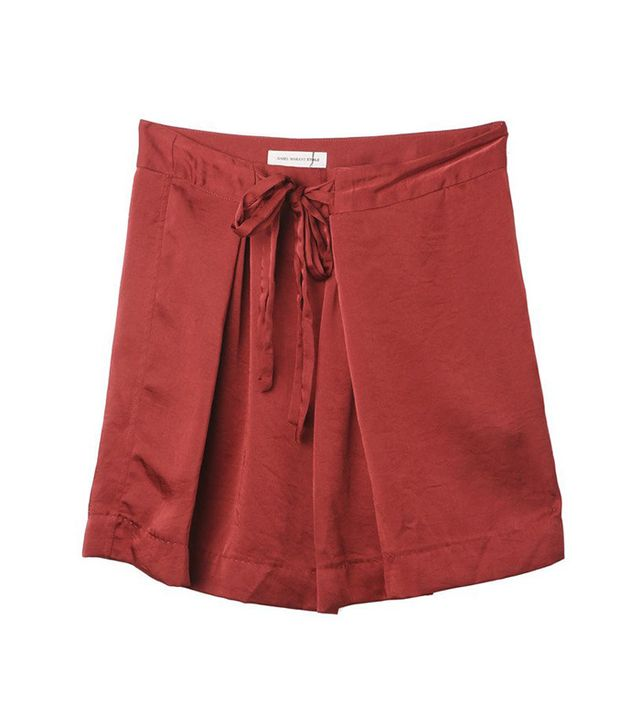 Tie Skirt by Isabel Marant