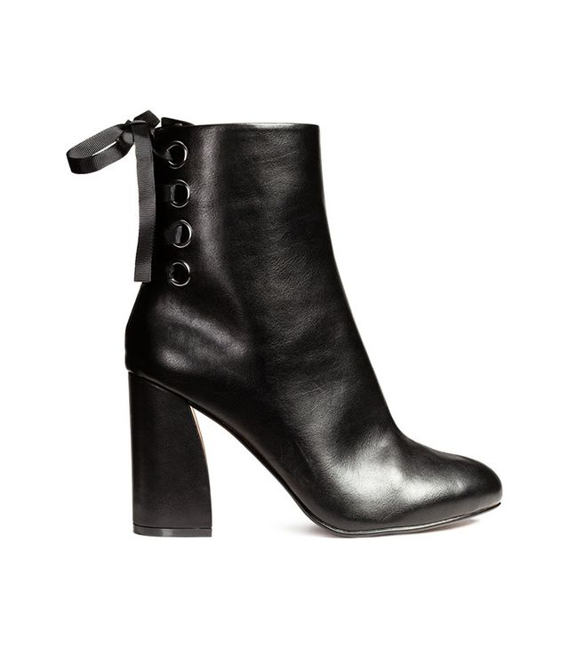 H&M Ankle Boots with Lacing
