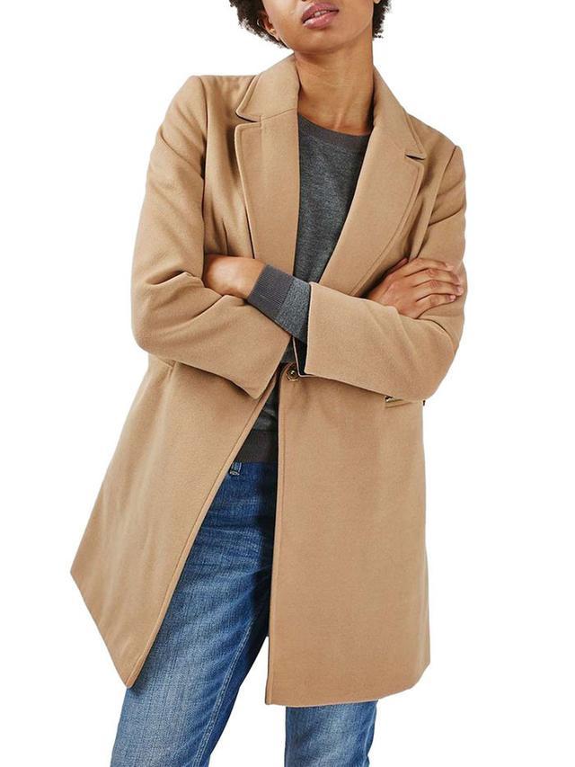 Topshop Meg Zip Pocket Coat