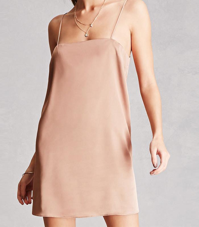 Forever21 Satin Slip Dress