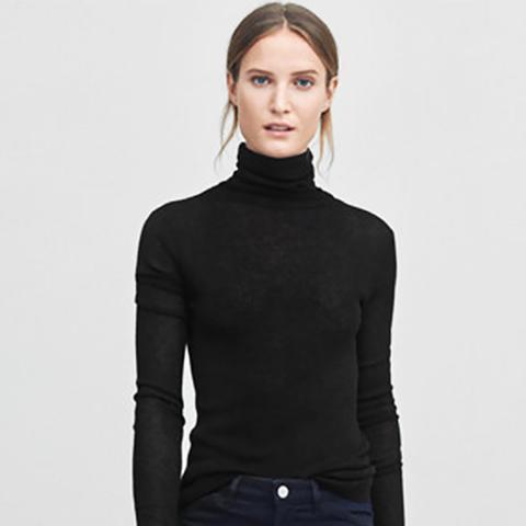 Slim Rib Roller in Black