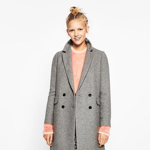 Double Button Masculine Coat