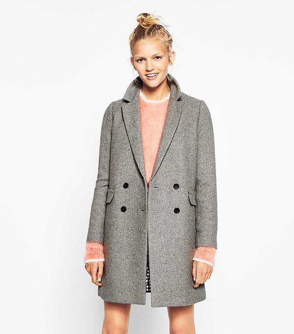 Zara Double Button Masculine Coat