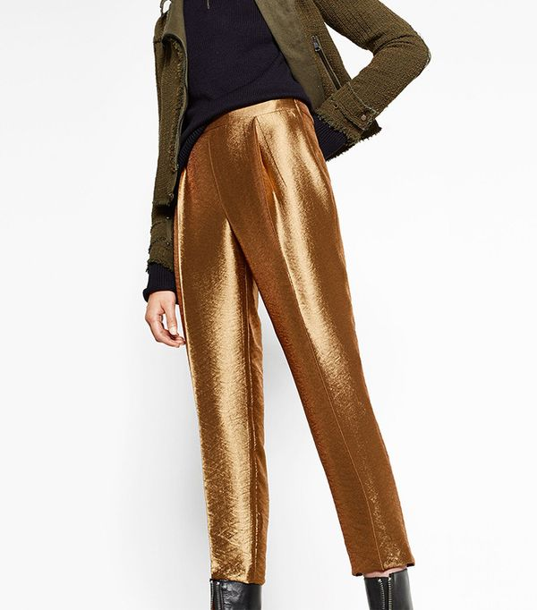Zara Shiny Trousers