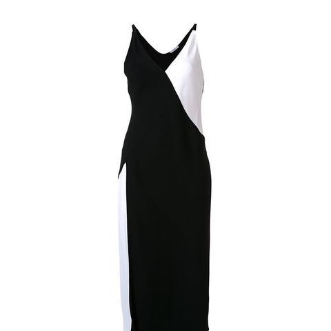 Crepe Slip Dress