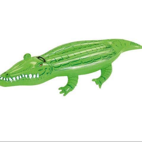 Inflatable Crocodile Rider
