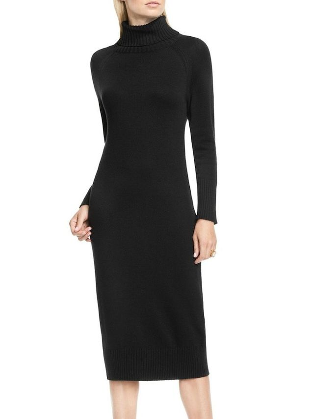 Vince Camuto Turtleneck Sweater Dress