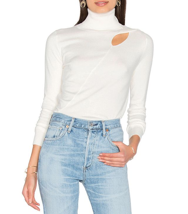 525 America Cut Out Sweater