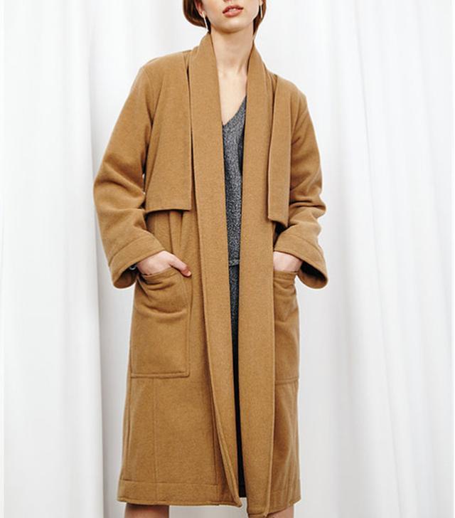 House Of Sunny Celina Wrap Coat