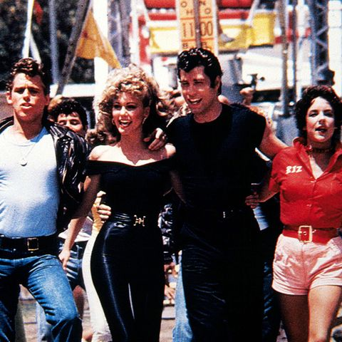 The History of Leggings: Sandy from Grease in 1978
