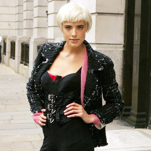 The History of Leggings: Agyness Deyn in 2008