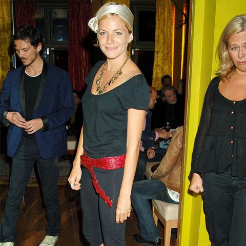 The History of Leggings: Sienna Miller in 2005