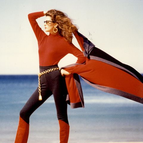 The History of Leggings: A fashion shoot from 1991