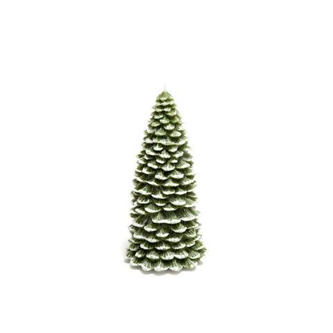 Green Fir Tree Candle