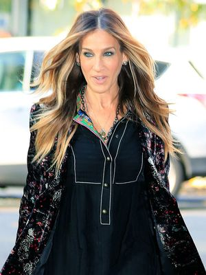 Sarah Jessica Parker Just Made White Tights Look Chic