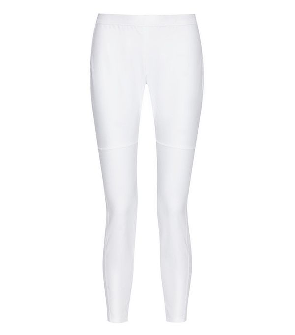 10 Crosby by Derek Lam Stretch-Cotton Leggings