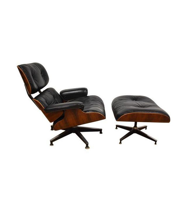 Eames Rosewood Lounge Chair and Ottoman