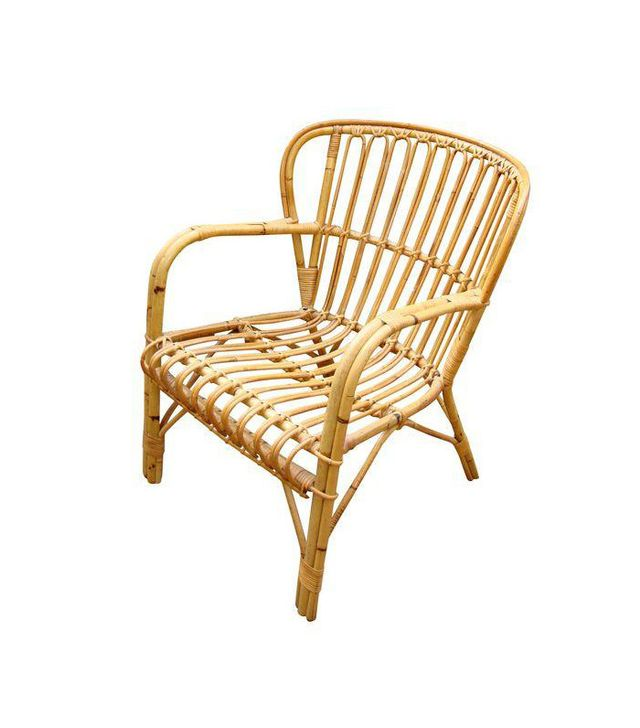 Franco Albini MidcenturyRattan Bentwood Chair