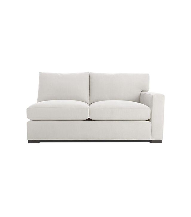 Crate and Barrel Axis II Right Arm Apartment Sofa